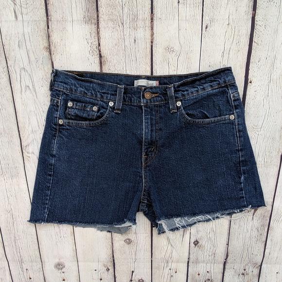 Levi's Pants - Levi's 505 Straight Leg Blue Jean Shorts